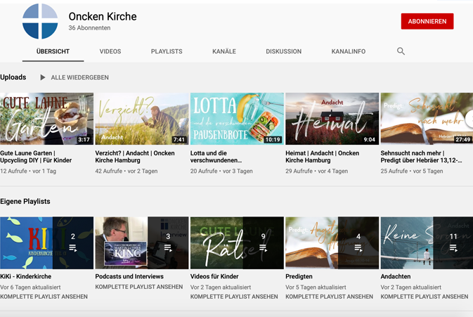 Zum YouTube Kanal >